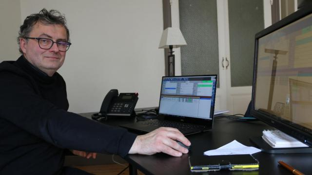Gilles Denoual, Responsable de Bercel Informatique